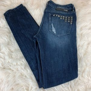 Hurley Distressed '80 Super Skinny Jeans 28X31